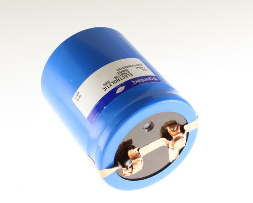 Picture of 23J242F250ED1H1 GENTEQ capacitor 2,400uF 250V Aluminum Electrolytic Large Can Computer Grade