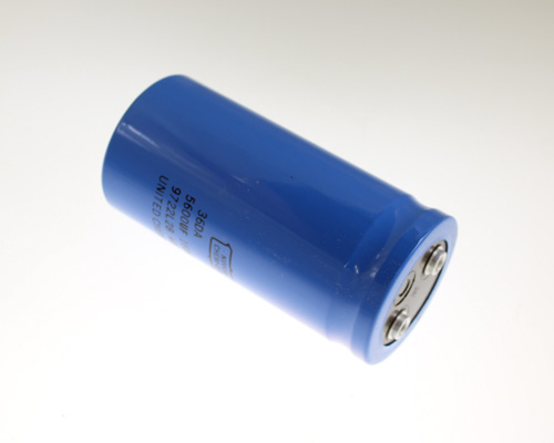 Picture of 36DA562F160BC2A UCC capacitor 5,600uF 160V Aluminum Electrolytic Large Can Computer Grade