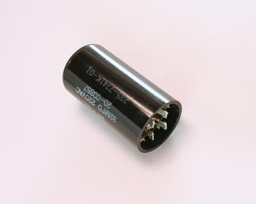 Picture of 20-00857 MALLORY capacitor 32uF 220V Application Motor Run