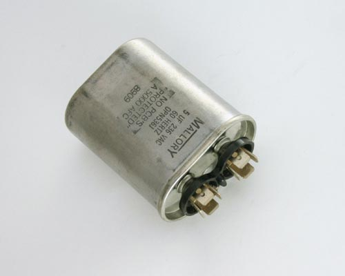 Picture of OPN536J MALLORY capacitor 5uF 236V Application Motor Run
