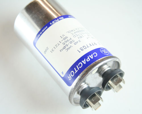 Picture of Z97F7081 GENERAL ELECTRIC capacitor 30uF 240V Application Motor Run