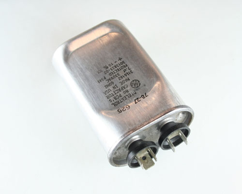 Picture of 21L6162 GENERAL ELECTRIC capacitor 7uF 330V Application Motor Run