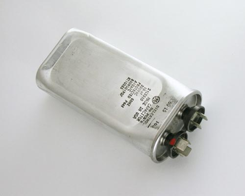 Picture of 21L3310 GENERAL ELECTRIC capacitor 10uF 330V Application Motor Run
