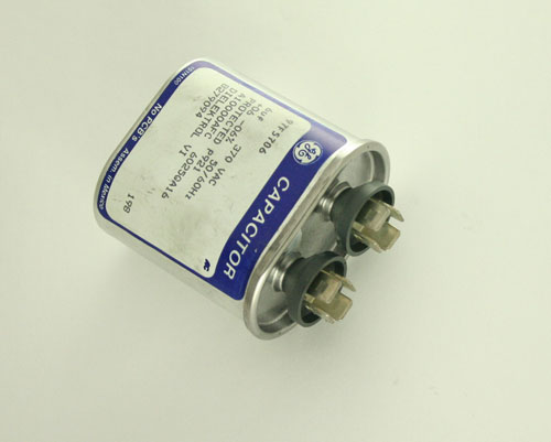 Picture of 97F5706 GE capacitor 6uF 370V Application Motor Run