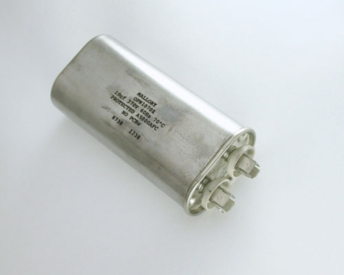 Picture of OPN1070Z MALLORY capacitor 10uF 370V Application Motor Run