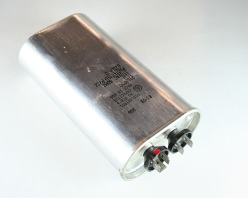 Picture of 21L6050 GENERAL ELECTRIC capacitor 15uF 370V Application Motor Run