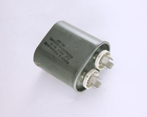 P50g4402e06 Aerovox Capacitor 2uf 440v Application Motor