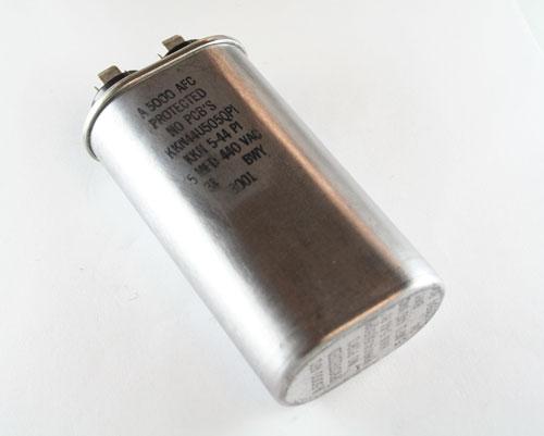 Picture of KKN44U505QPI Cornell Dubilier (CDE) capacitor 5uF 440V Application Motor Run