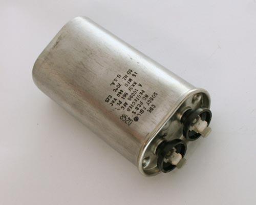 Picture of KKSF CDE capacitor 15uF 440V Application Motor Run