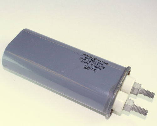 Picture of 26F6822FC GENERAL ELECTRIC capacitor 5uF 600V Application Motor Run