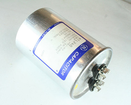 Picture of 61L240 GENERAL ELECTRIC capacitor 10uF 660V Application Motor Run