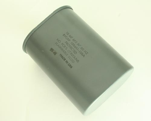Picture of 18B661106A RONKEN capacitor 10uF 660V Application Motor Run