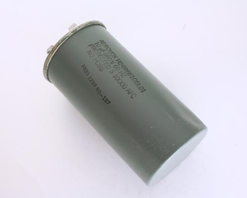 Picture of H24R6610SL01 AEROVOX capacitor 10uF 660V Application Lamp Ballast