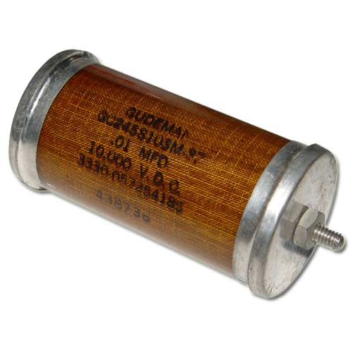 Picture of GC245S103M-37 GUDEMAN capacitor 0.01uF 10000V glass axial