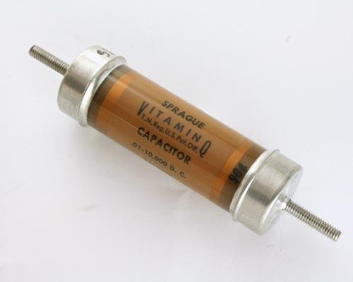 Picture of 8518222 SPRAGUE capacitor 0.01uF 10000V Vacuum