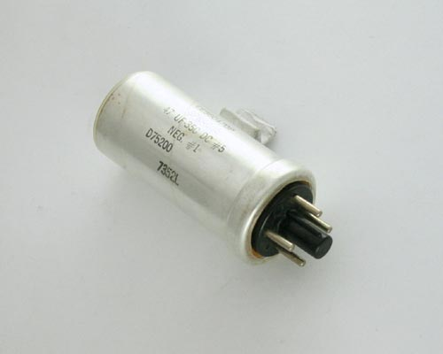 Picture of CE56C470P SPRAGUE capacitor 47uF 350V OIL Hermetically Sealed Radial