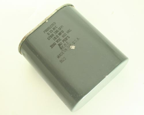 Picture of OTBH106SFPI CDE capacitor 10uF 660V Application Motor Run