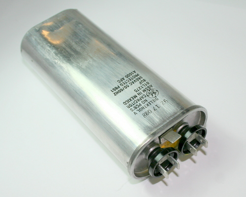 Picture of 61L1275 GE capacitor 8uF 660V Application Motor Run