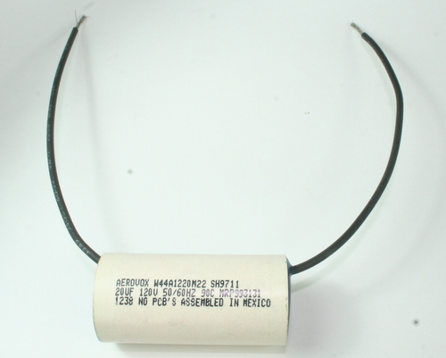 Picture of W44A1220M22 AEROVOX capacitor 20uF 120V Application Motor Run