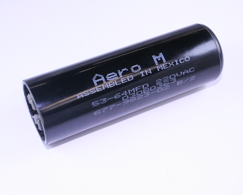 Picture of 030B0363 AERO-M capacitor 53uF 220V Application Motor Start