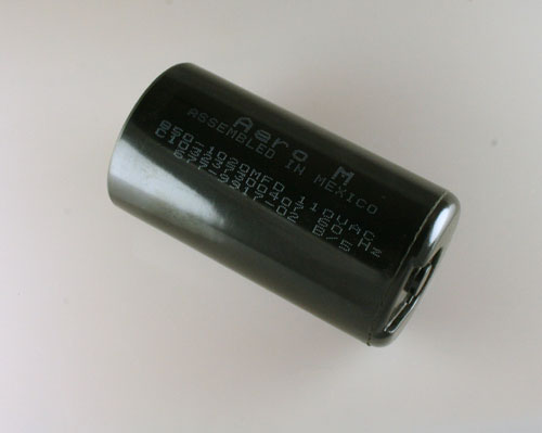 Picture of C103237300407 AERO-M capacitor 850uF 110V Application Motor Start