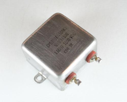 Picture of CP53B1EG105K1 CDE capacitor 1uF 1000V Oil Hermetically Sealed Radial