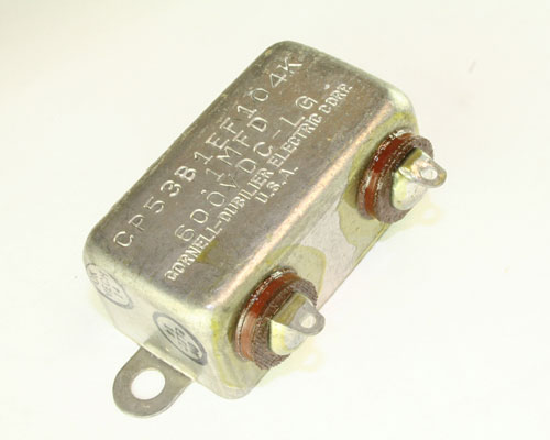 Picture of CP53B1EF104K BYAB capacitor 0.1uF 600V Oil Hermetically Sealed Radial