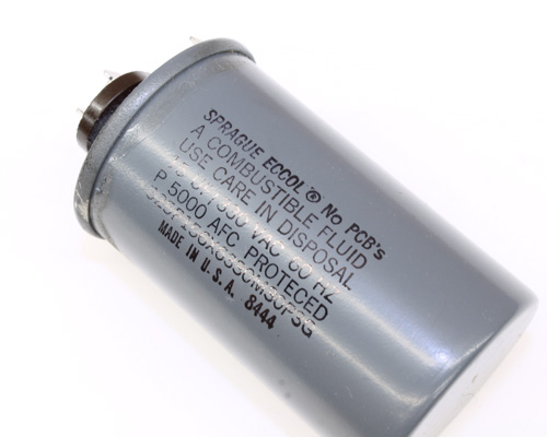 Picture of 325P156X6330M30P3G SPRAGUE capacitor 15uF 330V Application Motor Run