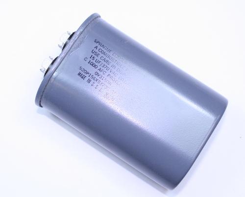 Picture of 520P156X9370C41P4X SPRAGUE capacitor 15uF 370V Application Motor Run