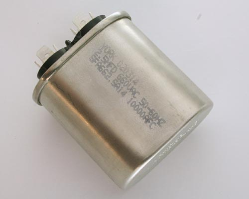 Picture of SFA662.5A14 YORK capacitor 2.5uF 660V Application Motor Run