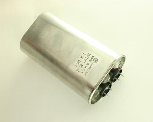 Picture of 26F1160 GENERAL ELECTRIC capacitor 7uF 660V Application Motor Run