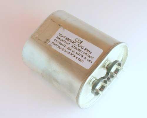 Picture of KTSM66U106M32-3 CDE capacitor 10uF 660V Application Motor Run