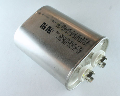 Picture of H42K6610E21A2 AEROVOX capacitor 10uF 660V Application Motor Run