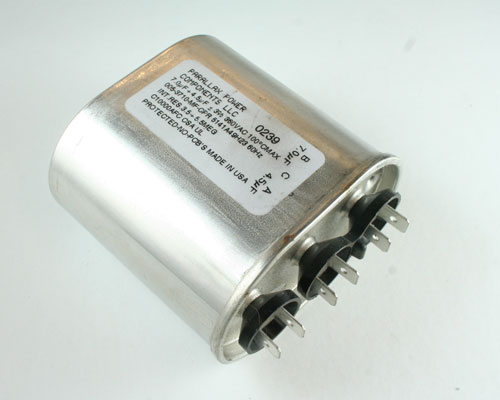 Picture of 5141A49H23 PPC capacitor 70uF 360V Application Motor Run