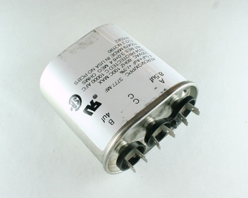 Picture of 3777-MF PPC capacitor 8.5uF 330V Application Motor Run