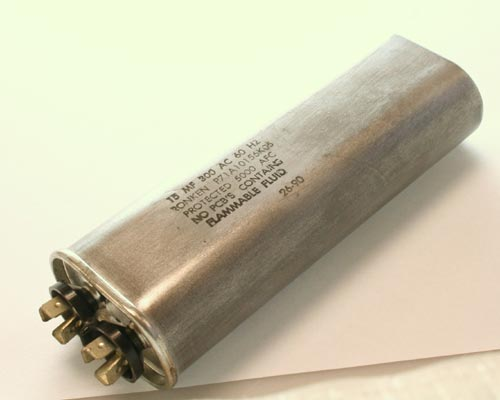 Picture of P71A10156K05 RONKEN capacitor 15uF 300V Application Motor Run
