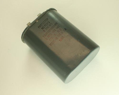 Picture of KANP66P505QAPI Cornell Dubilier (CDE) capacitor 5uF 660V Application Motor Run