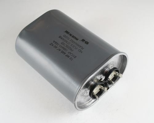 Picture of 18B661-106A BYCAP capacitor 10uF 660V Application Motor Run