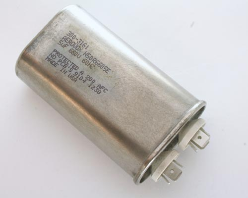 Picture of N50R6605E AEROVOX capacitor 5uF 660V Application Motor Run