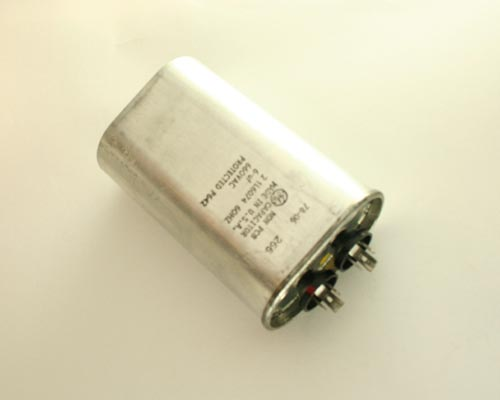 Picture of 21L6074 GE capacitor 6uF 660V Application Motor Run