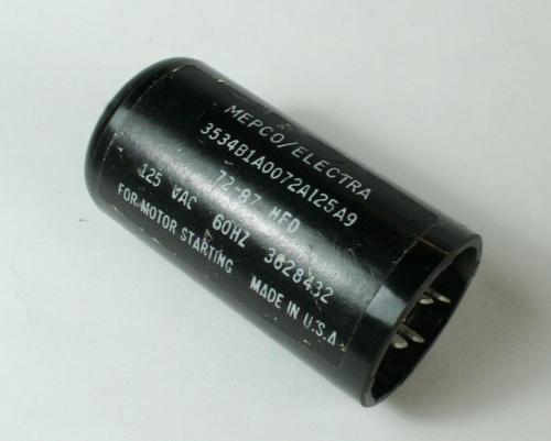 3534b1a0072a125a9 Mepco Philips Capacitor 72uf 125v