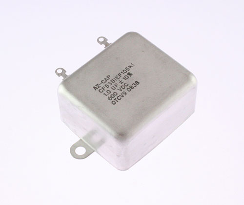 Picture of CP53B1EF105K1 Arizona CAPACITOR capacitor 1uF 600V oil hermetically sealed radial