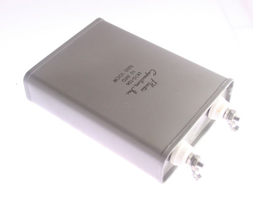 Picture of LK10-106 PLASTIC CAPACITORS capacitor 10uF 1000V Oil Hermetically Sealed Radial