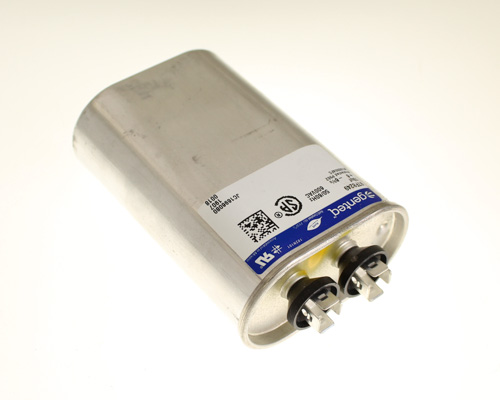 Picture of 97F8249 GENERAL ELECTRIC capacitor 10uF 600V Application Motor Run