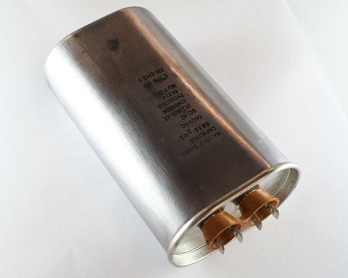 Picture of 37NB6608 MALLORY capacitor 8uF 660V Application Motor Run