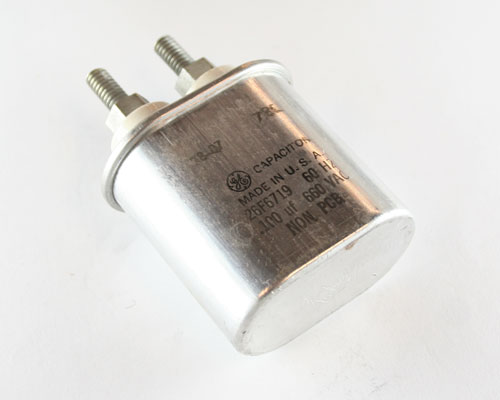 Picture of 26F6719 GENERAL ELECTRIC capacitor 0.1uF 660V Application Motor Run