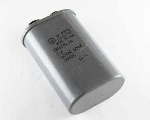 Picture of 28F5302FA GENERAL ELECTRIC capacitor 5uF 165V Application Motor Run