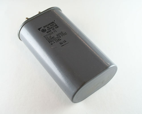 Picture of 97F7604FC GENERAL ELECTRIC capacitor 20uF 165V Application Motor Run