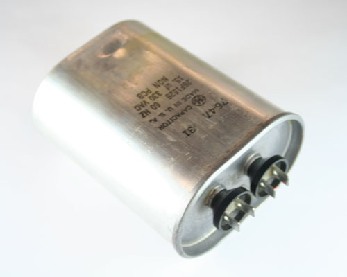 Picture of 26F1526 GENERAL ELECTRIC capacitor 15uF 330V Application Motor Run