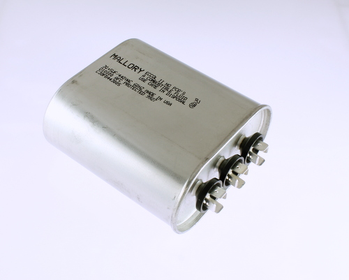 Picture of C38FB443005 Mallory capacitor 30uF 440V Application Motor Start